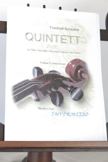 Schenker F - Quintet (2006) for Flute Clarinet Percussion Piano & Violin